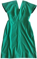 Roland Mouret Green Cotton - elasthane Dress for Women