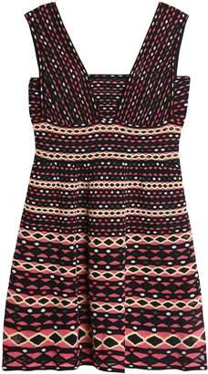 M Missoni Intarsia-knit Cotton-blend Mini Dress
