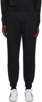 adidas Black 3D Trefoil Lounge Pants