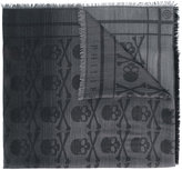 Philipp Plein skull print scarf