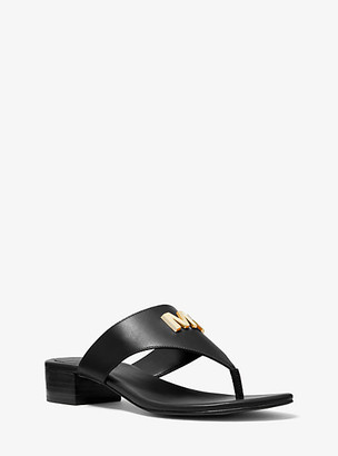 Michael Kors Deanna Leather Sandal