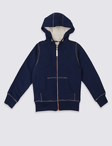 Marks and Spencer Hooded Sweatshirt (3-14 Years)