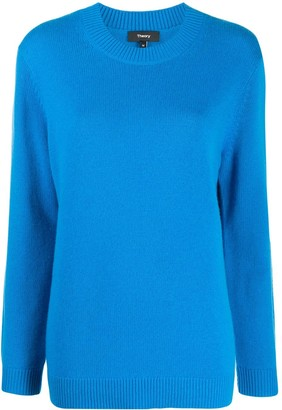 Theory relaxed-fit cashmere jumper