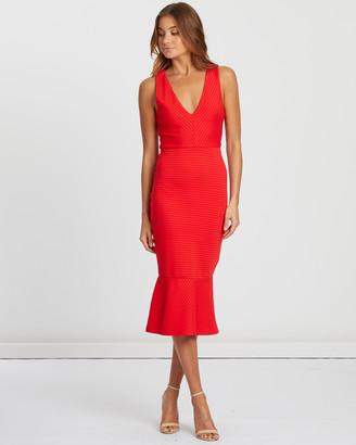 Chancery Lilah Bodycon Midi Dress