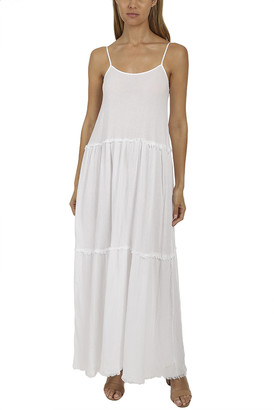 Anthony Logistics For Men Atm By Thomas Melillo ATM Gauze Tiered Dress