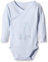 Noukie's Baby Boys Z630184 Plain Full Slip - blue -