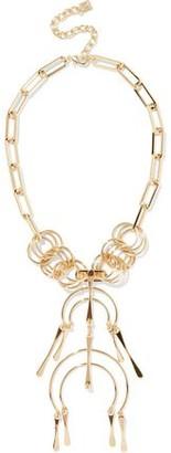 Dannijo Kammy 12-karat Gold-plated Necklace