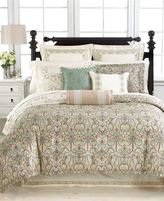 Martha Stewart Collection Ornate Paisley King Bedskirt