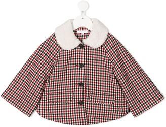 Chloé Kids Checked Jacket