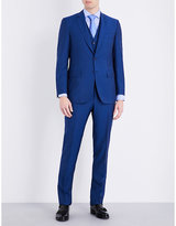 Canali Regular-fit Three-piece Wool Suit