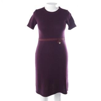 Louis Vuitton Purple Wool Dresses