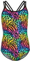 Zoggs TOGGS WILD CAT DUO BACK Swimsuit multicolor