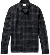 Simon Miller Checked Wool-Gauze Shirt