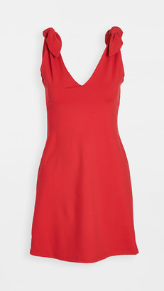 Susana Monaco Tie Shoulder A-Line Dress