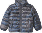 Joe Fresh Toddler Boys' Print Quilted Jacket, Blue (Size 2)