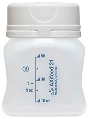 AXifeed EBM Breast Milk Storage Bottles, 50 ml (Pack of 10)