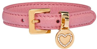 Miu Miu Heart Charm Adjustable Bracelet