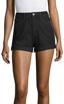 Arizona Denim Mom Shorts-Juniors