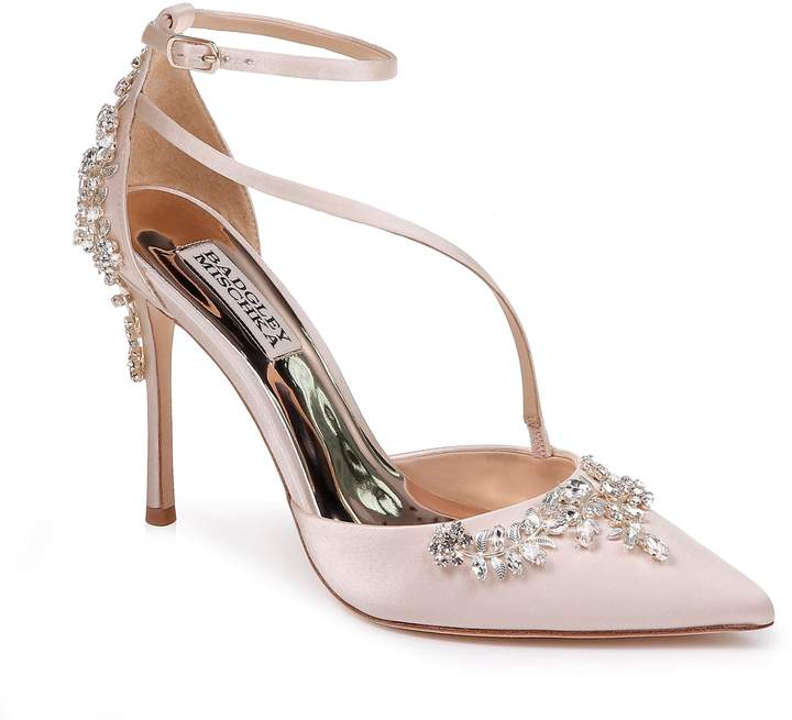 Badgley Mischka Collection Faith Ankle Strap Pump
