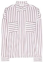 Isa Arfen Striped Cotton Shirt