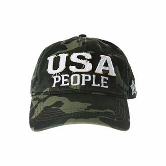 Pavilion Gift Company USA People-Camo Adjustable Snapback Baseball Hat