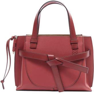 Loewe Gate Top-Handle Leather Tote Bag