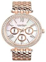 Caravelle New York by Bulova Women's Rose Gold-Tone Stainless Steel Bracelet Watch - 44N101