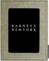 Barneys New York Shagreen-Effect Picture Frame