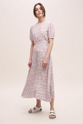 Faithfull The Brand Beline Floral-Print Midi Dress