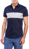 Antony Morato Navy Stripe Slim Fit Shirt