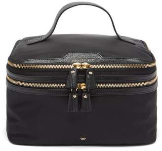 Anya Hindmarch Vanity Kit Wash Bag - Womens - Black