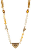 Lucky Brand Bone Strand Simple Necklace