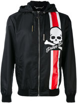 Philipp Plein hooded jacket - men - Cotton/Polyamide/Polyester/Spandex/Elastane - M