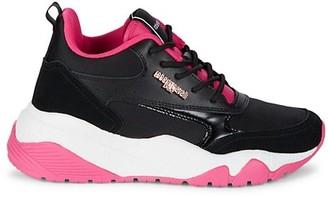 Roberto Cavalli Sport Colorblock Sneakers