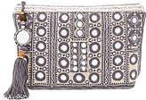 Star Mela Pinki Embroidered Clutch