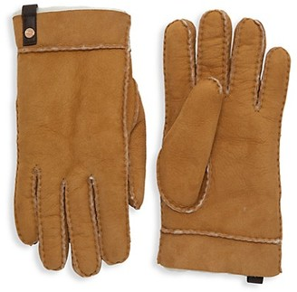 UGG Tenney Shearling Suede Gloves
