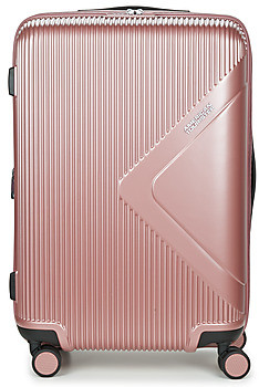 American Tourister MODERN DREAM 69CM 4R women's Hard Suitcase in Pink