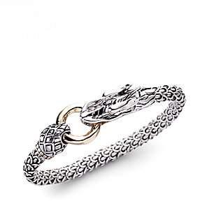 John Hardy Women's Legends Naga 18K Yellow Gold & Sterling Silver Dragon Bracelet