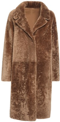 Drome Reversible Shearling Midi Coat