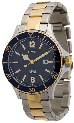 Timex Harborside 42mm two-toned watch