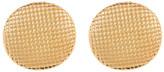 Simon Sebbag 24K Gold Plated Lattice Earrings