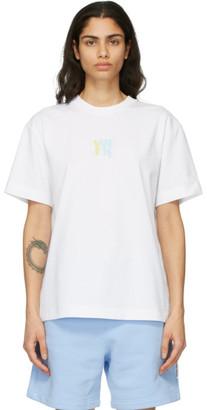 Alexander Wang White Puff Logo T-Shirt