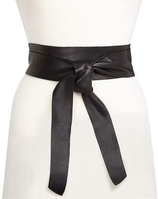 B-Low the Belt Women's Demi Leather Wrap Belt