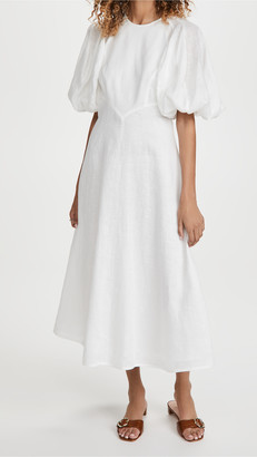 Zimmermann Linen Day Midi Dress