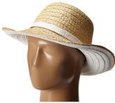 Kate Spade Color Blocked Asymmetrical Sun Hat