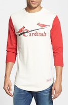 Mitchell & Ness Men's 'Mlb Batter - Cardinals' Cotton Baseball T-Shirt