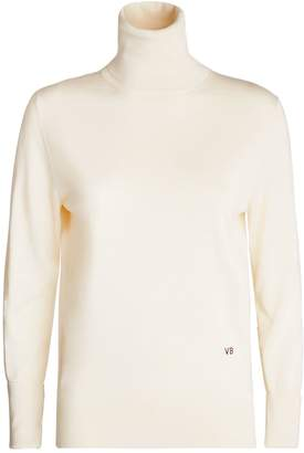 Victoria Beckham Silk Rollneck Sweater