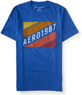Aero 1987 Logo Flag Graphic T