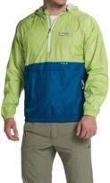 Columbia PFG Terminal Spray Anorak Jacket - UPF 40, Zip Neck (For Men)