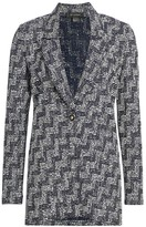 St. John Stepped Wicker Knit Jacket